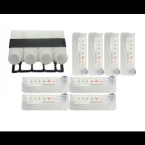 Mutoh-Mutoh Bulk Ink System (4 bottles – 8 cassettes)-ZMY-08910